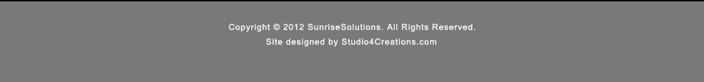 Sunrise Solutions Inc